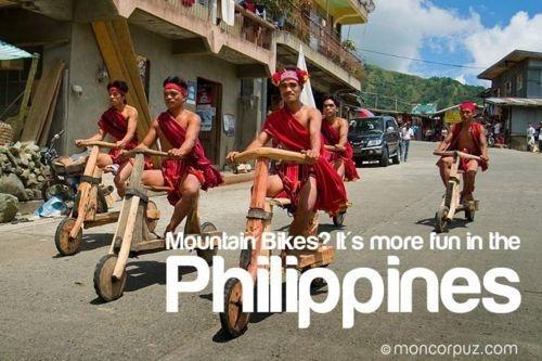 Biking. More fun in the Philippines