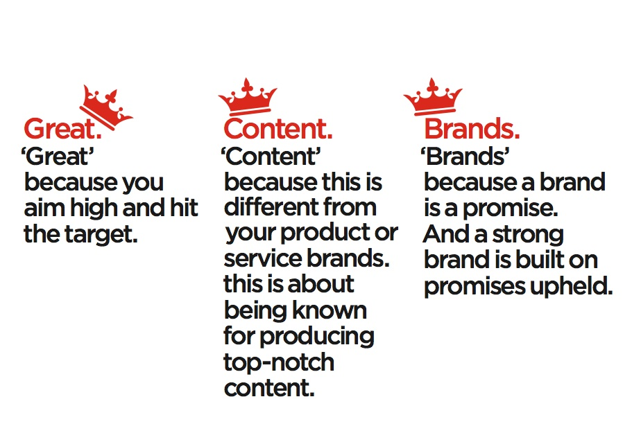 "Screenshot from ""Crap. The Content Marketing Deluge."" by Velocity Partners"