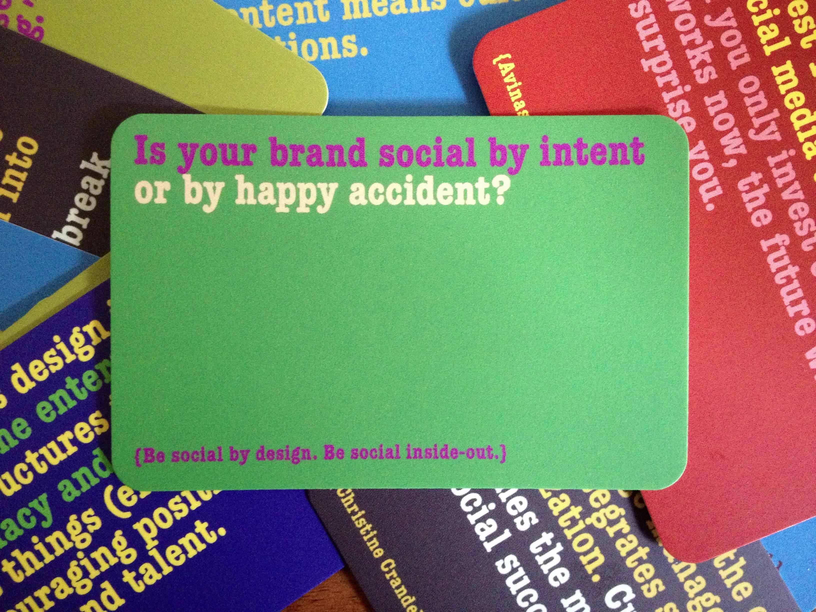 Socbiz insight: on brand authenticity