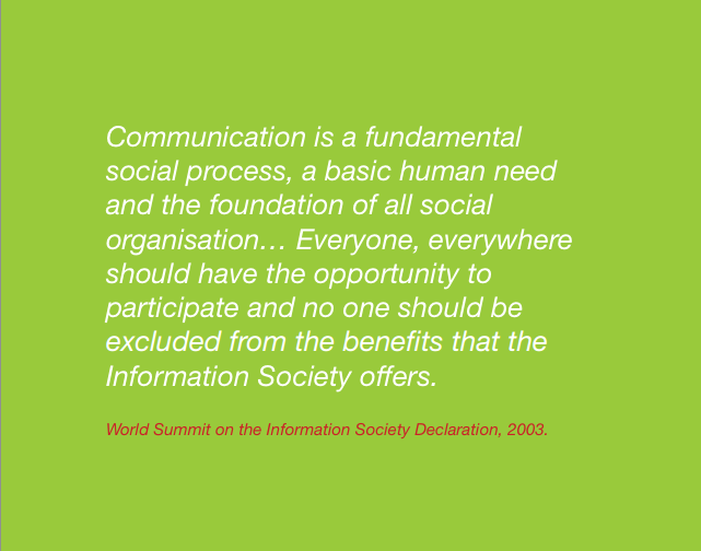 World Summit on the Information Society Declaration